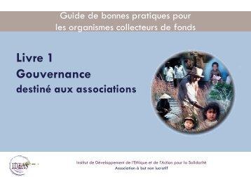 Gouvernance associations - Ordre des Experts-Comptables