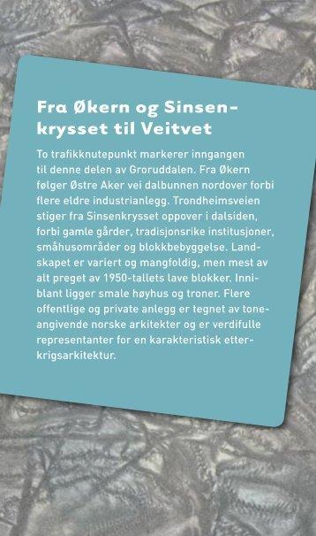 Fra Økern til Sinsenkrysset og Veitvet - Byantikvaren
