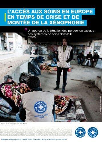 llaccès aux soins en europe en temps de crise et de montée de la ...