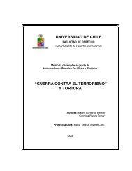 guerra contra el terrorismo - Tesis Electrónicas Universidad de Chile