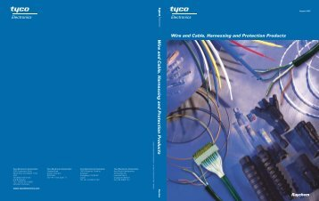 Wire and Cable, Harnessing and Protection Products Wire and ...