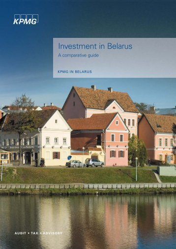 Investment in Belarus cover WEB:INVESTMENTthe Baltics cover ...