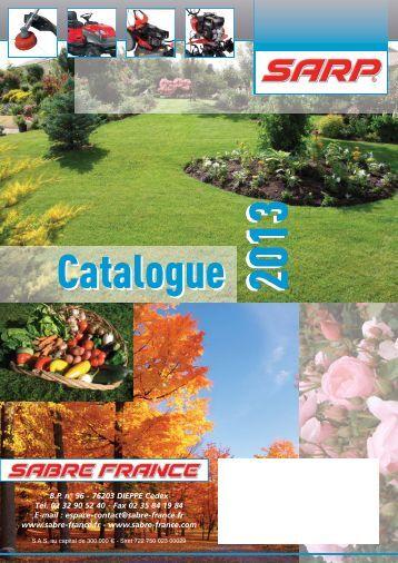 Téléchargez le catalogue - SABRE FRANCE