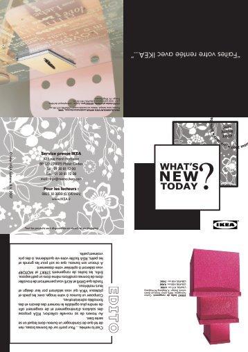 Télécharger la Newsletter - Ikea
