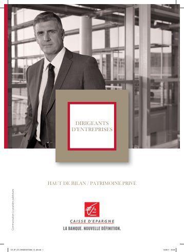 Financez vos opérations de haut de bilan La - Caisse d'Epargne