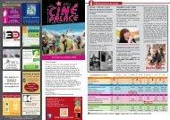 le Programme du mois - CINE PALACE