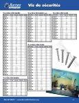 Vis de sécurités - Barnes Distribution - Page 2