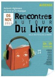 Rencontres autour du livre - CDT Gironde