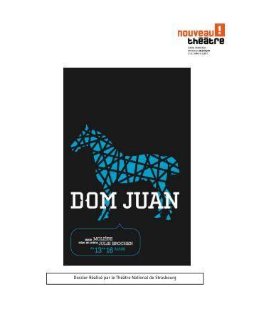 dissertation dom juan une comédie Les rapports dom juan/sganarelle - corrigé dissertation i/ une relation maître/valet traditionnelle a) des rôles bien définis b) un valet de comédie.