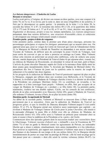 les liaisons dangereuses dissertation essay Commentaire de la lettre 1 des liaisons dangereuses – laclos commentaire de la lettre 1 des liaisons dangereuses – laclos by leter 0  aucune dissertation.