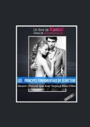 Les 7 Principes Fondamentaux Du Séducteur - Seduction by Kamal