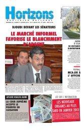 LE MARCHÉ INFORMEL FAVORISE LE BLANCHIMENT D'ARGENT ...