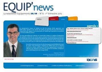 agenda > - Equip'news