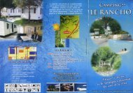 Brochure - Camping Le Rancho