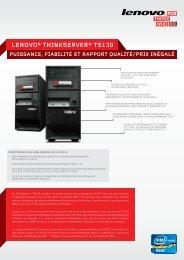 LENOVO® THINKSERVER® TS130