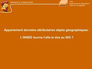 Appariement données attributaires (format PDF : 4 176Ko) - Insee