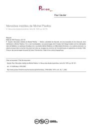 Monodies inédites de Michel Psellos - Bibliotheca Pretiosa