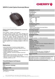 GENTIX Corded Optical Illuminated Mouse - Cherry