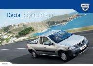 Obtenir une brochure - Dacia