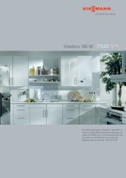 Vitodens 100-W - Master