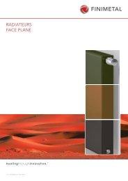 Radiateurs Face Plane [pdf; 3.20 MB] - Finimetal