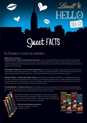 Sweet Facts - photopress