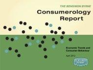 Economic Trends and Consumer Behaviour - Bensimon Byrne