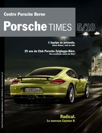Centre Porsche Berne Radical. - Porsche Zentrum Bern