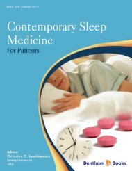 CHAPTER 2 Epidemiology of Sleep Disorders - Bentham Science