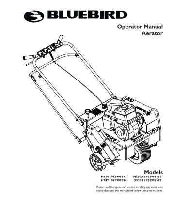Full details for Landustrie surface aerator