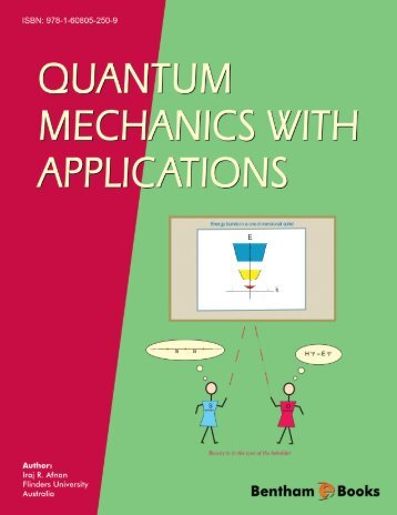 Quantum Mechanics with Applications - Bentham Science