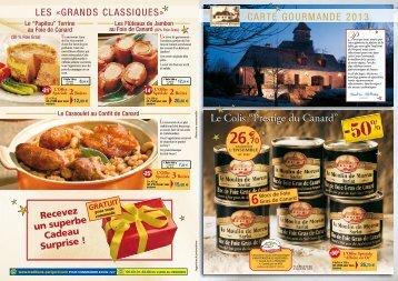 Télécharger notre catalogue - Traditions du Périgord