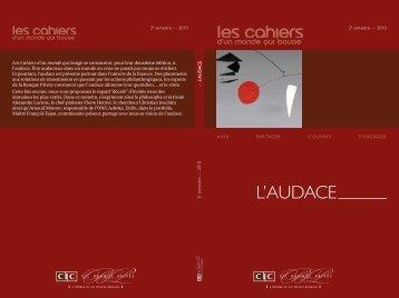 semestre — 2010 L'AUDACE - CIC