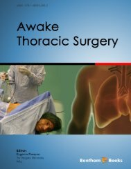 Awake Thoracic Surgery - Bentham Science