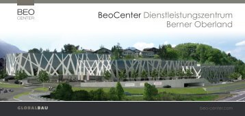 BeoCenter Dienstleistungszentrum Berner Oberland