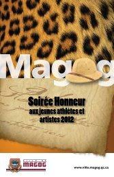 Honneur aux jeunes athlètes et artistes 2012 17-10 ... - Ville de Magog