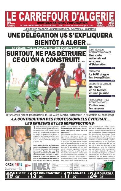 19 17 2408 1304 Le Carrefour Dalgérie