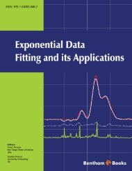 Exponential Data Fitting and its Applications - Bentham Science
