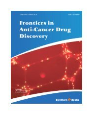 Frontiers in Anti-Cancer Drug Discovery - Bentham Science