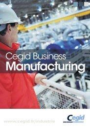 Cegid Business Manufacturing