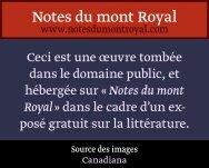In Pythique - Notes du mont Royal