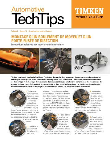 Automotive - Timken