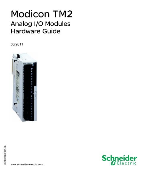 TM2AMM6HT Schneider Electric MODICON Analog input//output module M238