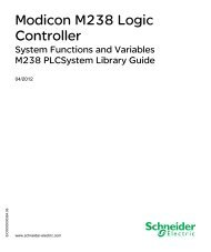 Library manual M238 system functions | 2 MB - BERGER - POSITEC