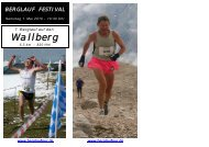 7. Berglauf auf den Wallberg - Berglaufpur.de