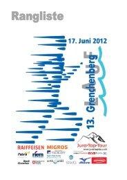 Ergebisliste Einlauf M/W - Berglaufpur.de