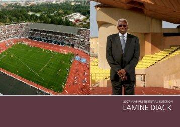 lamine diack - 12th IAAF World Championships in Athletics - Berlin ...