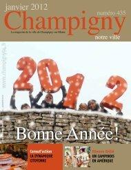 janvier 2012 - Mairie de Champigny sur Marne