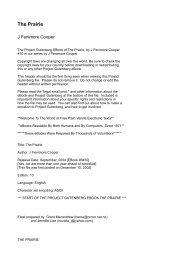 The Prairie - Biblioteca Digital da PUC-Campinas