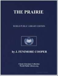 THE PRAIRIE - World eBook Library